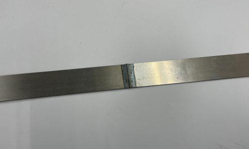 薄板突き合わせ溶接